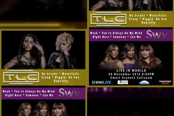 TLC and SWC LIVE in Manila 2016