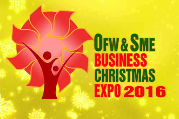 Shop for Business and Gifts inside the OFW & SME Business Christmas Expo at the Megatrade Hall