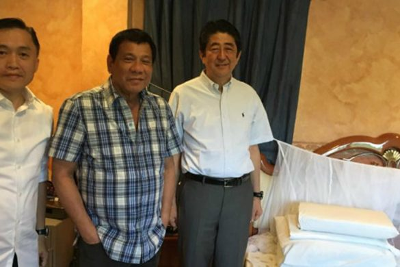 JAP PM Shinzo Abe Eats Biko and Kutsinta!