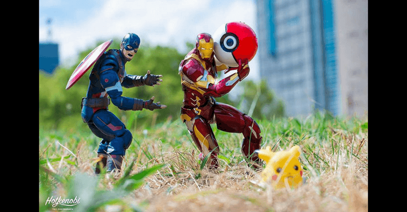 Action Figures Come to Life!