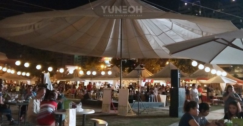 YuneOhverse Greets Greenfield Valentine Market