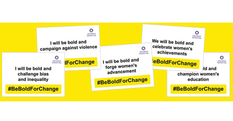 International Women's Day #BeBoldForChange Women Celebrity Event Inspirations