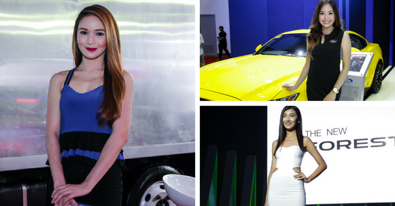 The Hottest Event Models of the Manila International Auto Show