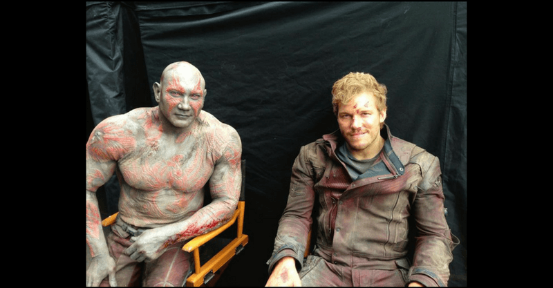 Event Buzz: Guardians Of The Galaxy Awkward Bromance Scenes