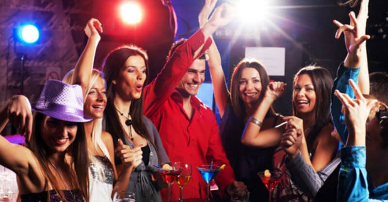 Types of Club Event Goers