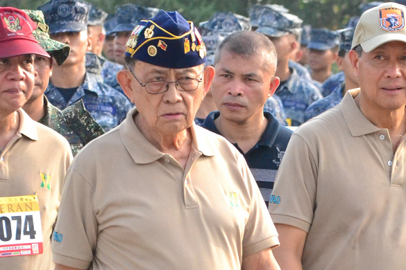 Capas Freedom March relives Filipino valor