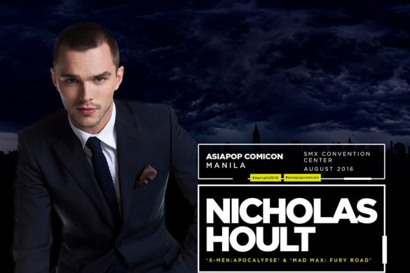 Hollywood Actor Nicholas Hoult Live in Manila for APCC 2016