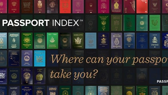 Your Travel Friend: Passport Index