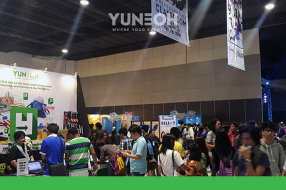 crowds flocked YuneOh booth at Animax Carnival 2016