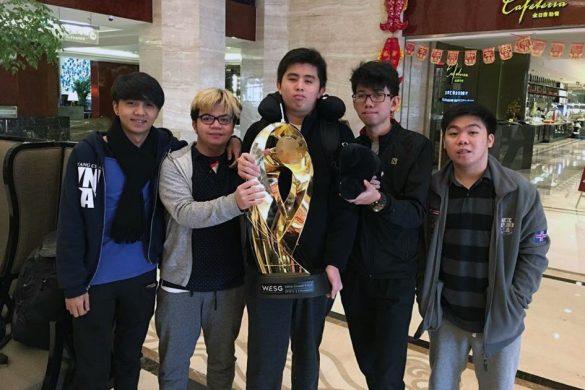 TNC PRO Team Champions at World Electronic Sports Games 2016
