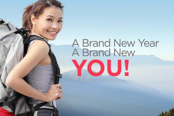 A Brand New Year Can Mean A Brand New You!