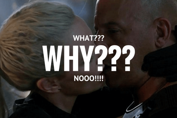 Event Buzz: Vin Diesel & Charlize Theron's Awkward Kiss