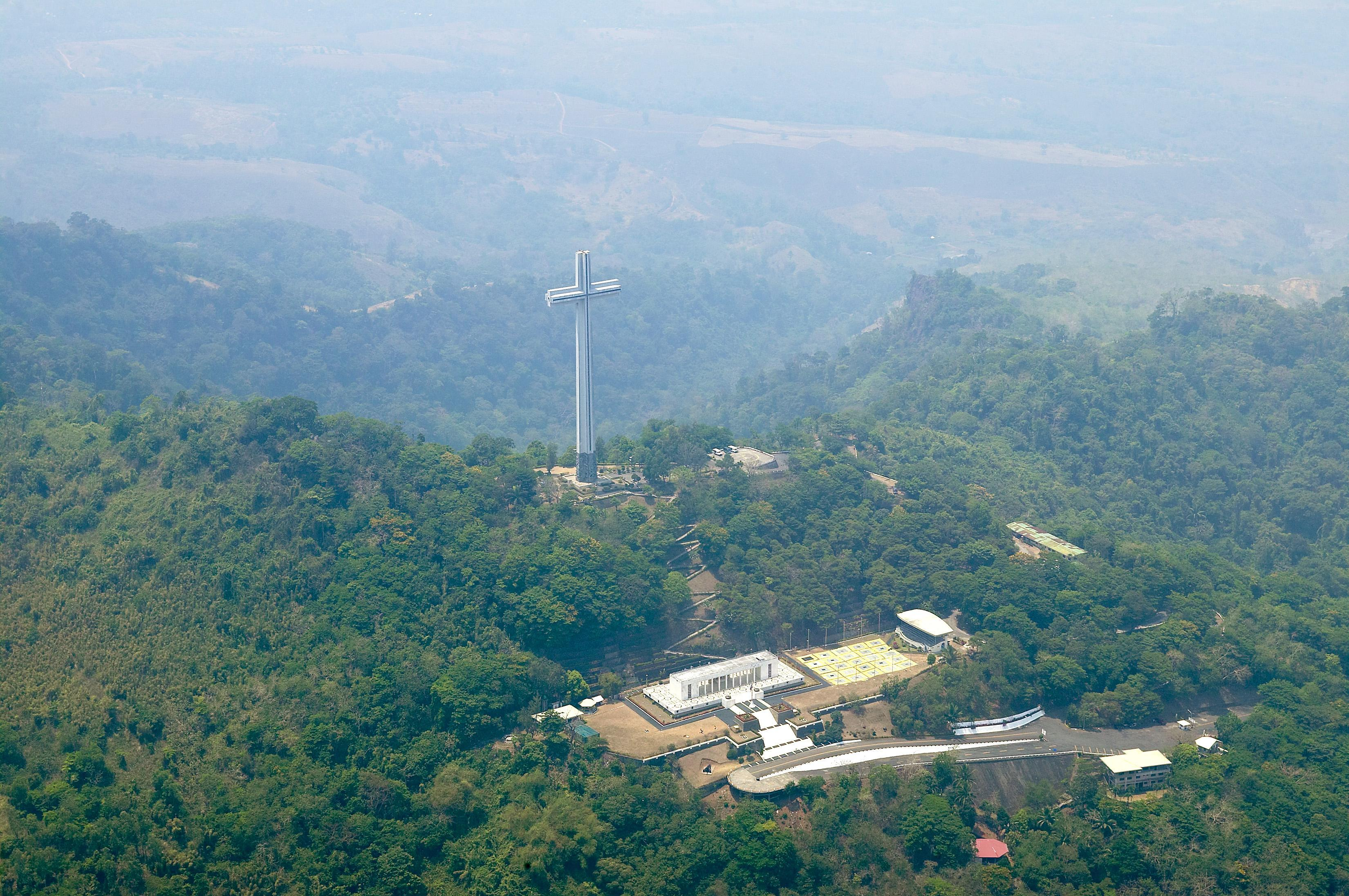 mt samat cross bataan
