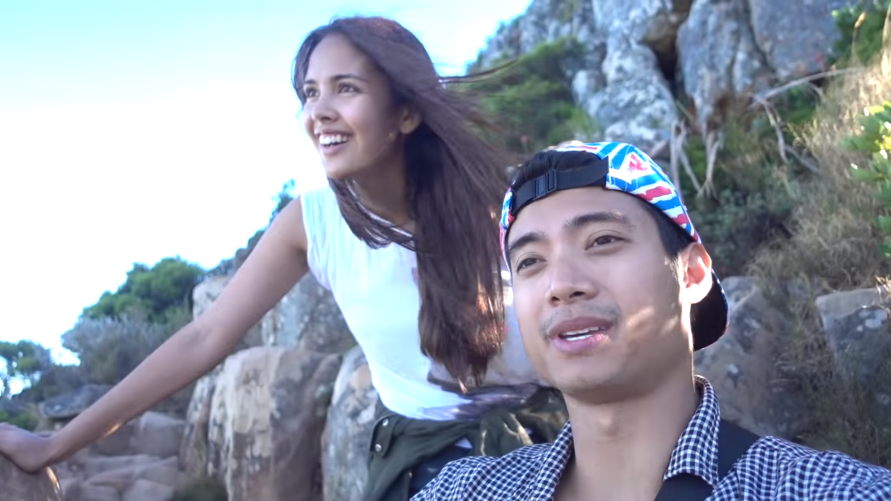 Megan Young and Mikael Daez