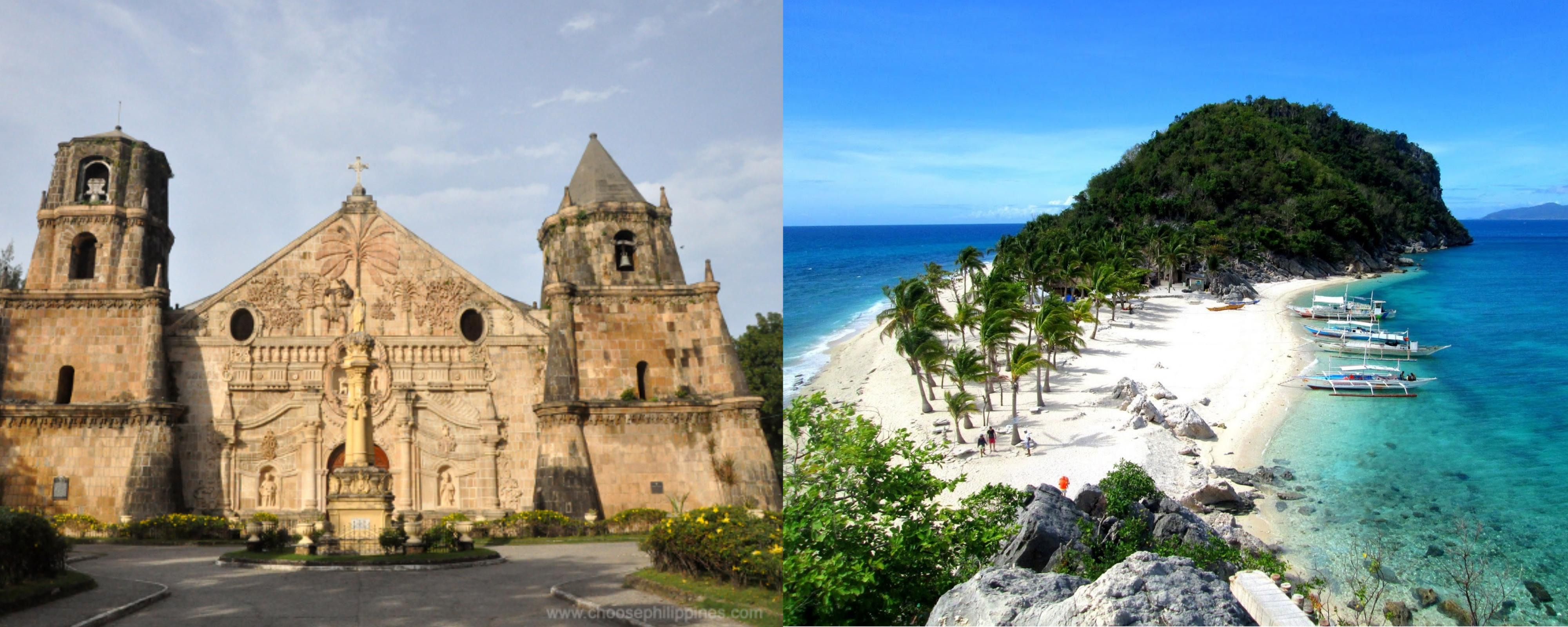 Some attractions to visit in Iloilo. Image via Choose Philippines and Manila Bulletin.