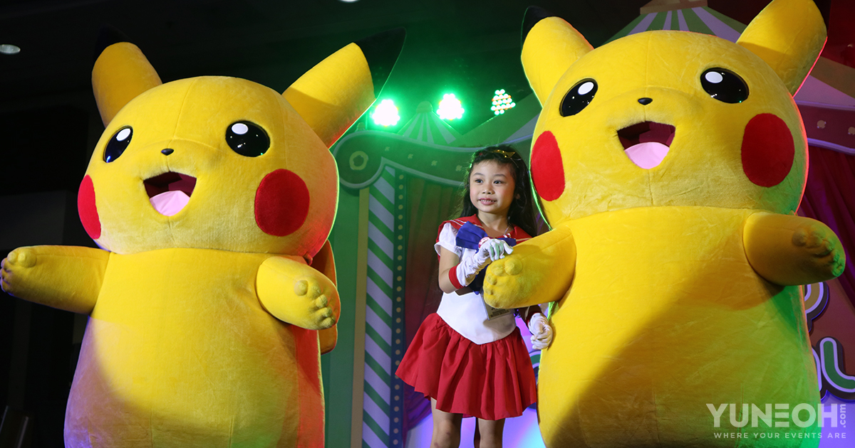 pikachu meet & greet