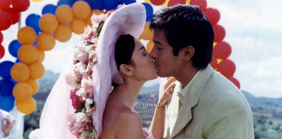 Real life couple of the 90's, Claudine Barretto and Rico Yan for 'Got To Believe'
