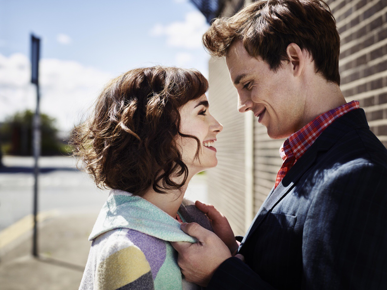 The film stars Lily Collins, Sam Claflin.