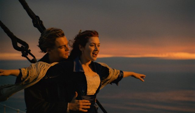 One of the most memorable scene from the movie 'Titanic'